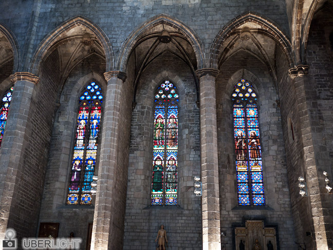 Catedral de Santa Eulalia de Barcelona Panasonic GF1 f/1.7